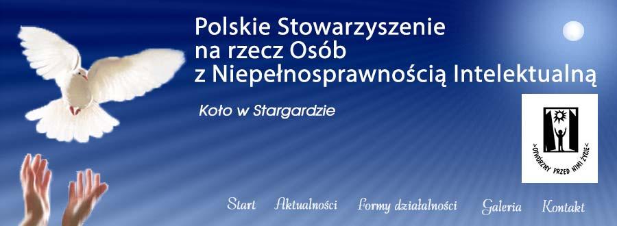 Polskie Stowarzyszenie na Rzecz Osób z Niepelnosprawnoscia Intelektualna - Kolo w Stargardzie